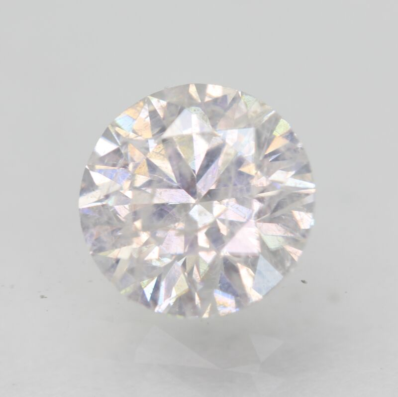 Certified 1.00 Carat D SI2 Round Brilliant Enhanced Natural Loose Diamond 6.34mm