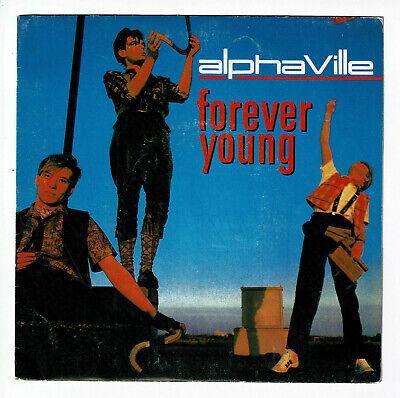 "Alphaville Vinyl 45 Rpm Sp 7 "" Forever Young Version Slow and Fast - Wea"