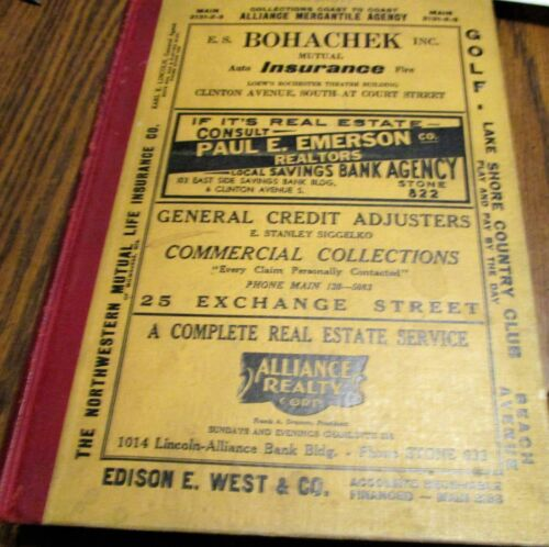 1939 ROCHESTER NY RESIDENTIAL AND BUSINESS DIRECTORY