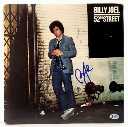 """BILLY JOEL Signed Autographed """"52nd STREET"""" Album LP Beckett BAS #S29776"""