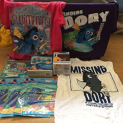 Finding Dory Toy Stuff Lot T-Shirts Birthday Party Finding Nemo Pop Figure More!](Hello Kitty Birthday Stuff)