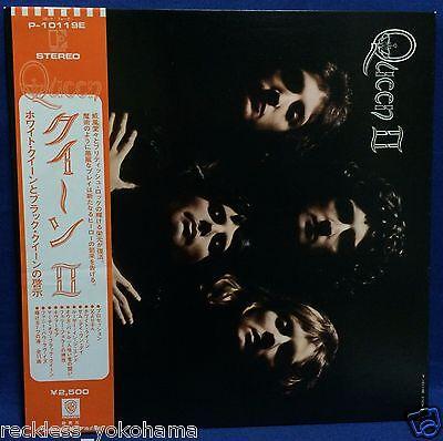 Queen 2Nd Ii Japan Lp Vinyl Record P 10119E 1976 Reissue Freddie Mercury Obi