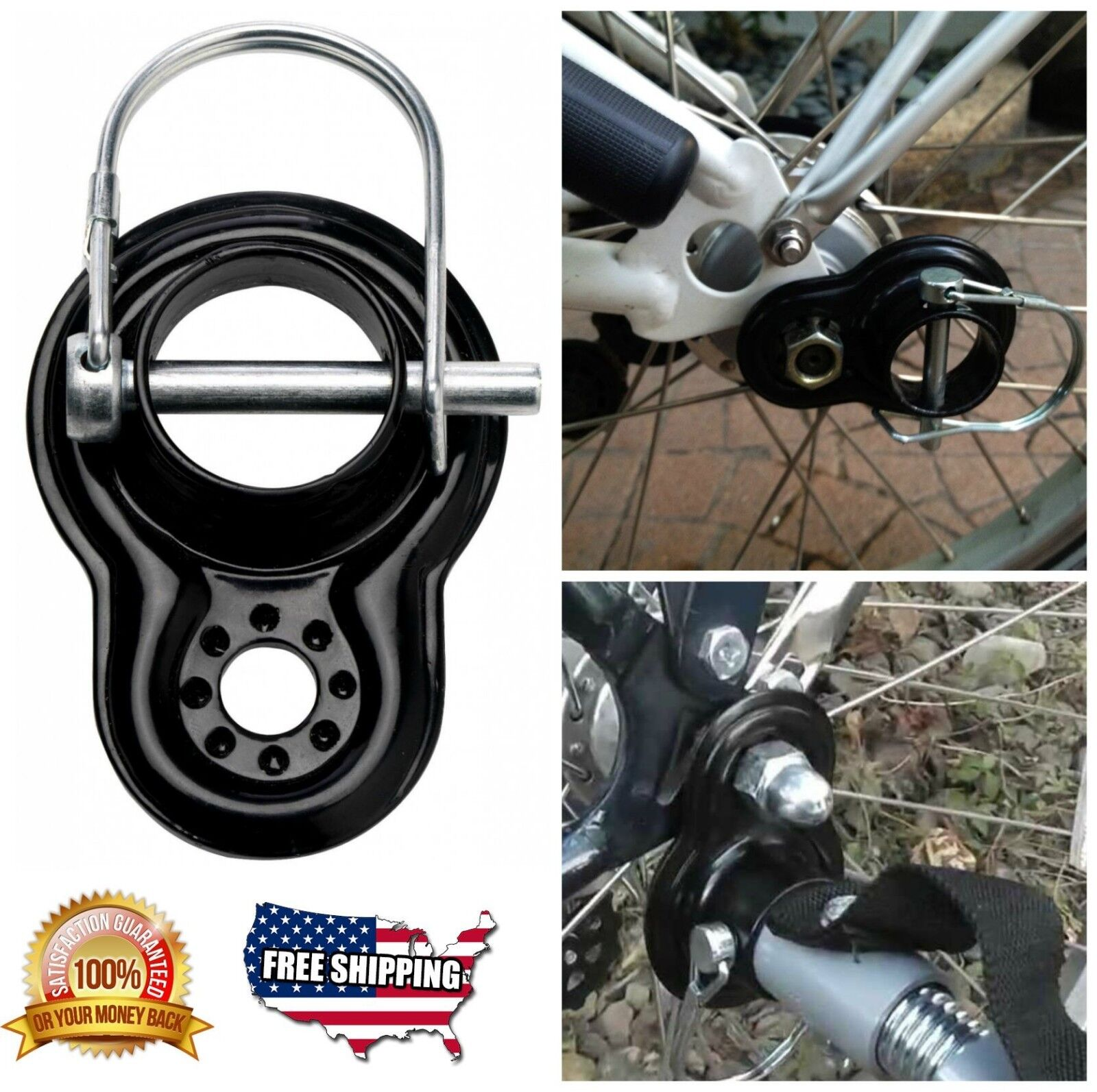 InStep Flat Coupler for InStep and Schwinn Bicycle Trailers