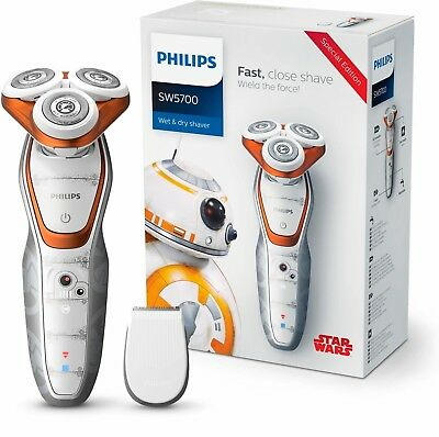 Philips SW5700/07 Star Wars Special Edition Rasierer Design BB8 loyaler Droide