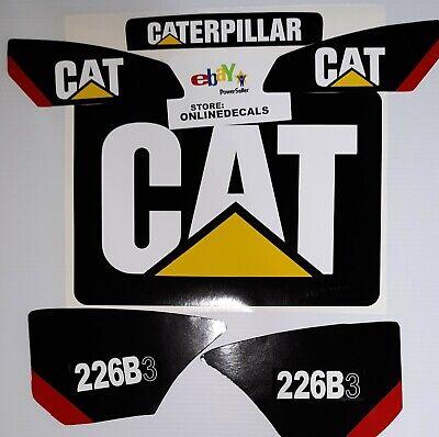 Skid Steer Caterpillar Cat Decal 226b3 Sticker Set Fast Free Shipping
