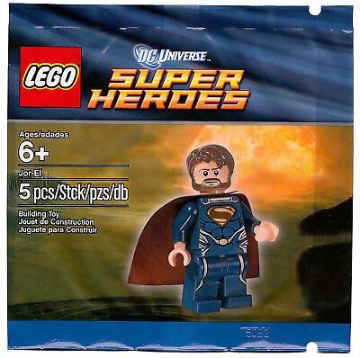 2013 DC COMICS SUPER HEROES JOR-EL 5001623 MINIFIGURE POLYBAG, SEALED