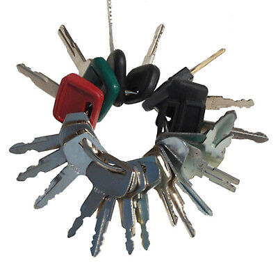 Sitemaster Heavy Construction Equipment Key Set Hitachi Linkbelt Hyundai Jcb Cat