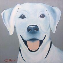 ART SALE Doberman Labrador Staffi Chihuahua Mornington Mornington Peninsula Preview