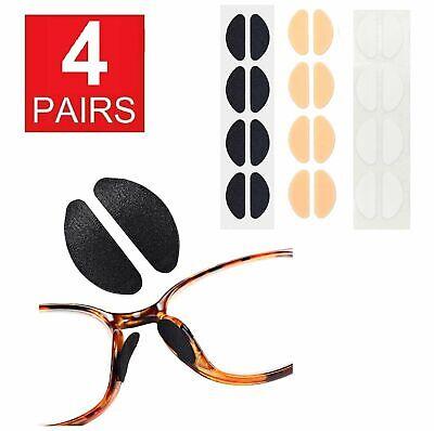4 Pairs Anti-slip Foam Stick On Nose Pads For Eyeglasses Sunglasses Glasses US Health & Beauty