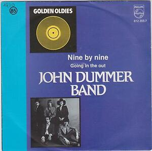 JOHN-DUMMER-BAND-Nine-By-Nine-1970-European-2-track-7-vinyl-single-in-p-s