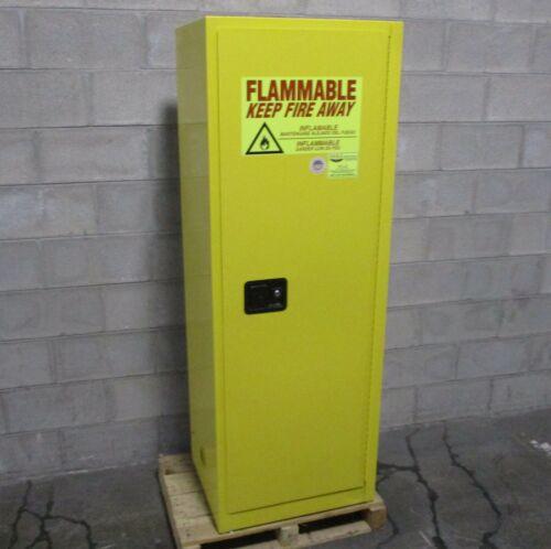 "Eagle Model 1923 Flammable Liquid Safety Cabinet 24 Gallon, Single 65 x 23 x 18"""