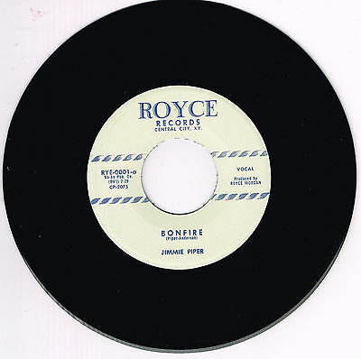 JIMMIE PIPER - BONFIRE / I MET A GIRL (Repro) (Killer 1950s ROCKABILLY Bopper)
