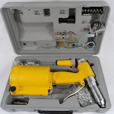 Air Hydraulic Rivet Gun - New Pneumatic Air Hydraulic Pop Rivet Gun Riveter Riveting Tool w/Case FREE SHIP