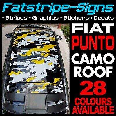 FIAT PUNTO GRAPHICS TIGER STRIPES DECALS STICKERS GRANDE EVO ABARTH 1.2 1.4 2.0