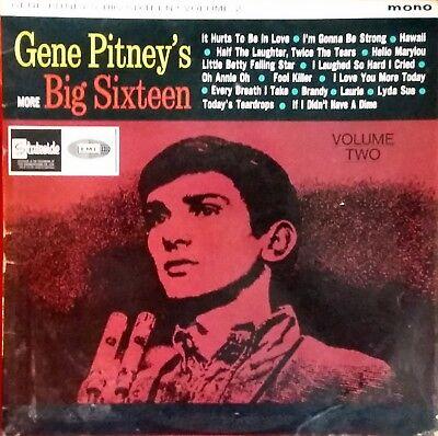 GENE PITNEY MORE BIG SIXTEEN VOL.2*1964/65*SL 10132*VERY GOOD SHINY CONDITION