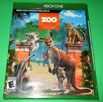 Zoo Tycoon: Ultimate Animal Collection Xbox One *Brand New! *Free Shipping! comprar usado  Enviando para Brazil