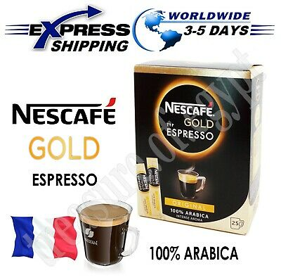NESCAFE Gold Espresso 100% Arabica Ground Beans The Finest Instant Aroma Coffee -