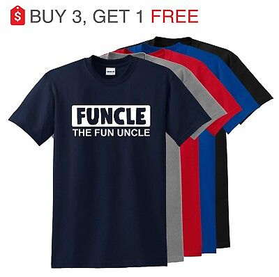 FUNCLE T-Shirt The Fun Uncle Funny Humor Family Best