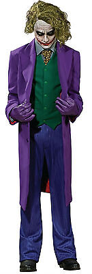 Herren Professionell der Joker Batman Cosplay Halloween Kostüm Kleid Outfit