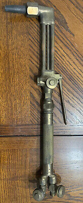 Vintage National Welding Cutting Set 5044 Torch And 200-a Handle
