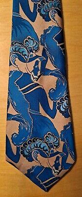 1960s – 70s Men's Ties | Skinny Ties, Slim Ties Vtg 1960s Hardy Amies Mod Art Nouveau Super Wide