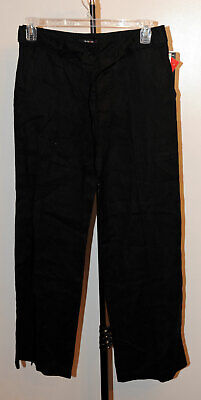 Style & Co Womens Size 8 Wide Leg Ebony Black Pant New with Tags -