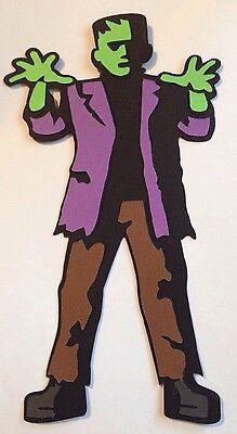 Halloween Cards With Cricut (Frankenstein Halloween Cricut Die Cut Handmade With Card)