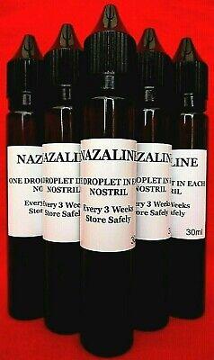 Nazaline 30ml Racing Pigeons Nasal Drops Respiratory Mucus.