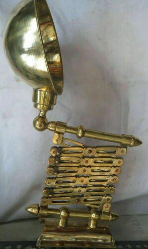 New Flattery Nautical Marine Ship Scissor Brass Wall Lamp 1 Pcs