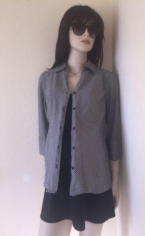 EUC MATERNITY M 3-piece Lot MIMI Black SHORT Pinafore Dress MOTHERHOOD Shirt Top