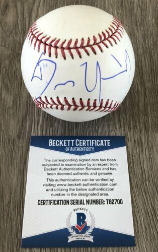 DENNIS QUAID THE ROOKIE SIGNED AUTOGRAPH MLB BASEBALL B w/EXACT PROOF & BAS COA