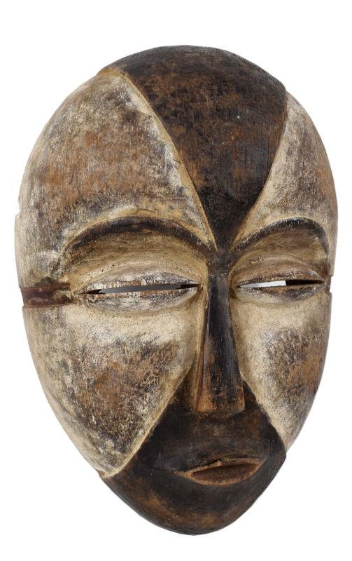 Galoa Face Mask Gabon African Art Collection