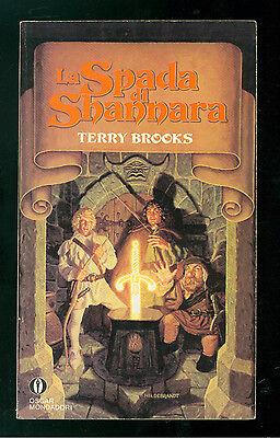 BROOKS TERRY LA SPADA DI SHANNARA MONDADORI 1991 OSCAR FANTASY 6