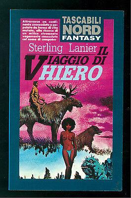 LANIER STERLING IL VIAGGIO DI HIERO NORD 1991 TASCABILI 5 FANTASY