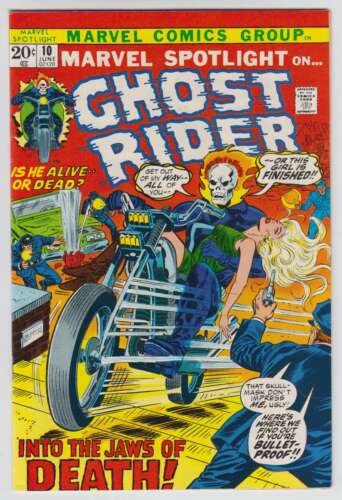 L8858: Marvel Spotlight #10, Vol 1, Mint Condition