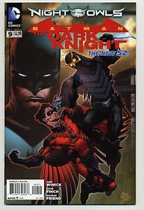 Batman-The-Dark-Knight-9-The-New-52-Night-Of-The-Owls-1st-Print-NM-VF