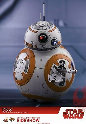Star Wars, Hot Toys, BB-8 Sixth Scale Figure MMS440. Brand New,sealed shipper!