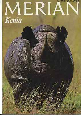 MERIAN  Jg. 1976 Heft Nr. 3 Kenia