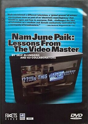 Nam June Paik: Lessons From The Video Master (DVD) RARE [REGION 0, NTSC]
