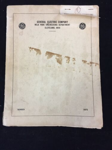 1942 GENERAL ELECTRIC PHOTOFLASH SYNCHRONIZATION TESTER OPERATION MANUAL