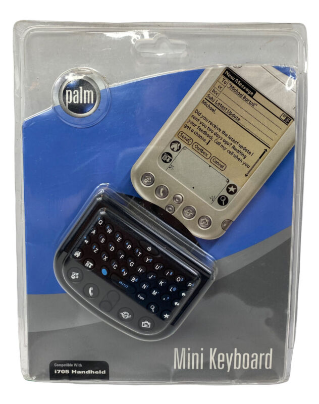 PALM PILOT - i705 Handheld Mini Keyboard - New Old Stock In Package