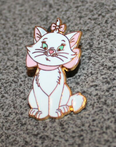 DISNEY PIN MARIE WITH PINK BOW ARISTOCATS DLRP CATS AND DOGS