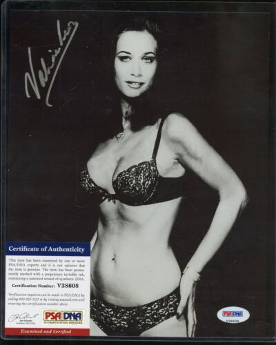Valerie Leon Signed 8x10 Photograph PSA/DNA COA AUTO Autograph Stock Photo