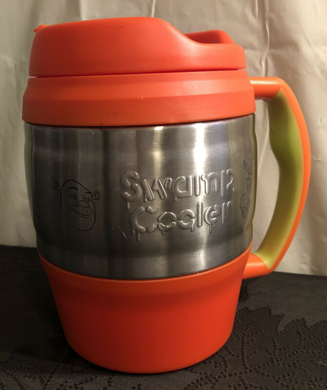 Lightly Used Shrek 2 (52 Oz) Insulated Swamp Cooler Tumbler With Lid