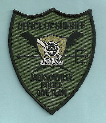 JACKSONVILLE SHERIFF FLORIDA POLICE DIVE TEAM PATCH