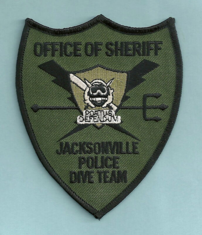 JACKSONVILLE SHERIFF FLORIDA DIVE TEAM SHOULDER PATCH