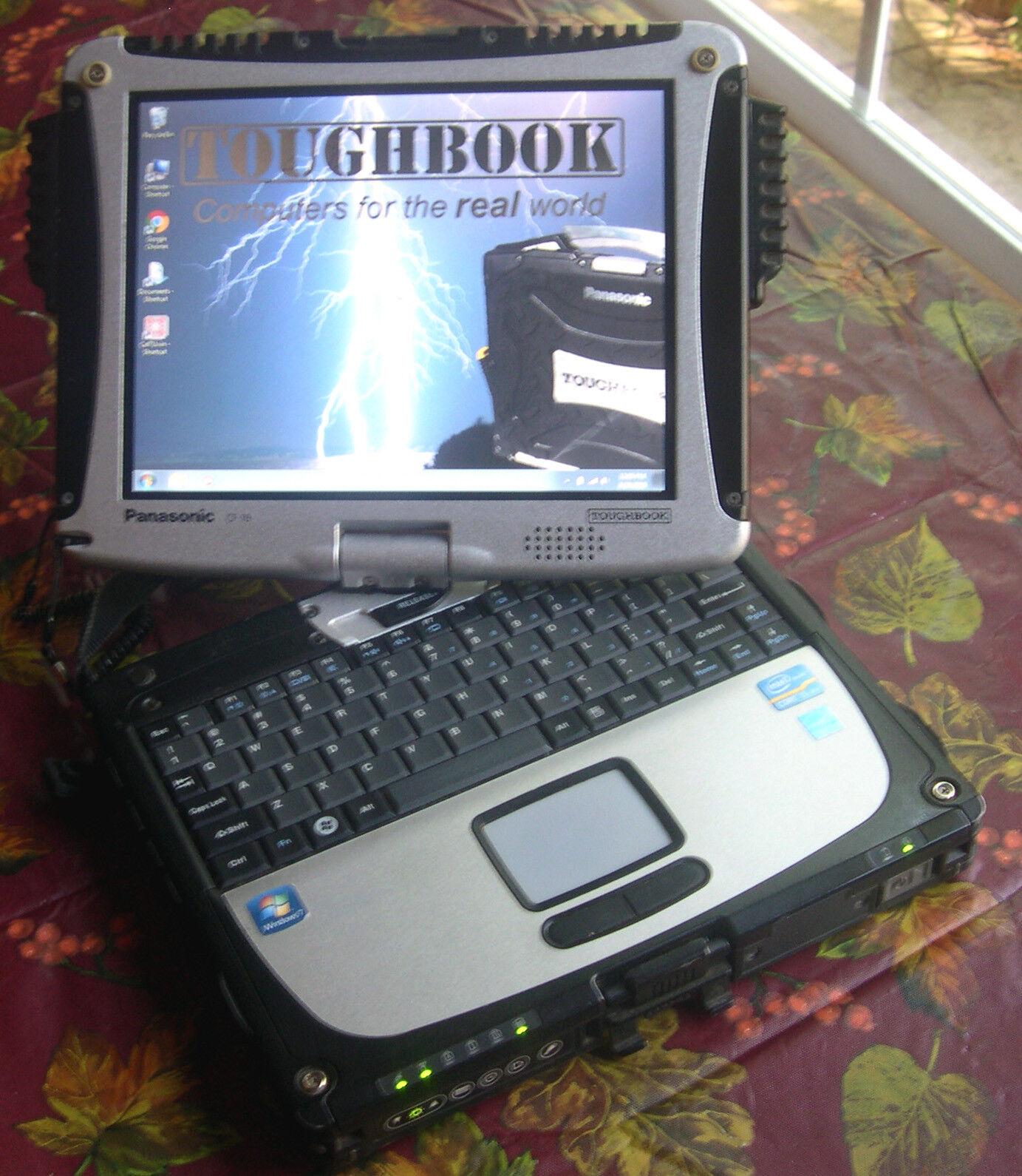 Panasonic Toughbook CF-19 i5 2.50GHz MK-5 WIN 7 LAPTOP VERY CLEAN TOUCHSCREEN