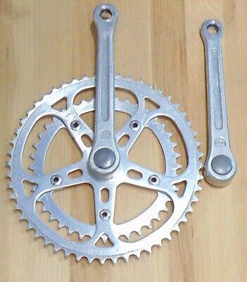 "9//16/"" 48 teeth Bicycle Chain guard Dotek 170mm DOUBLE Bike CHAIN WHEEL 40"