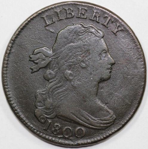 1800 1c Draped Bust Large Cent