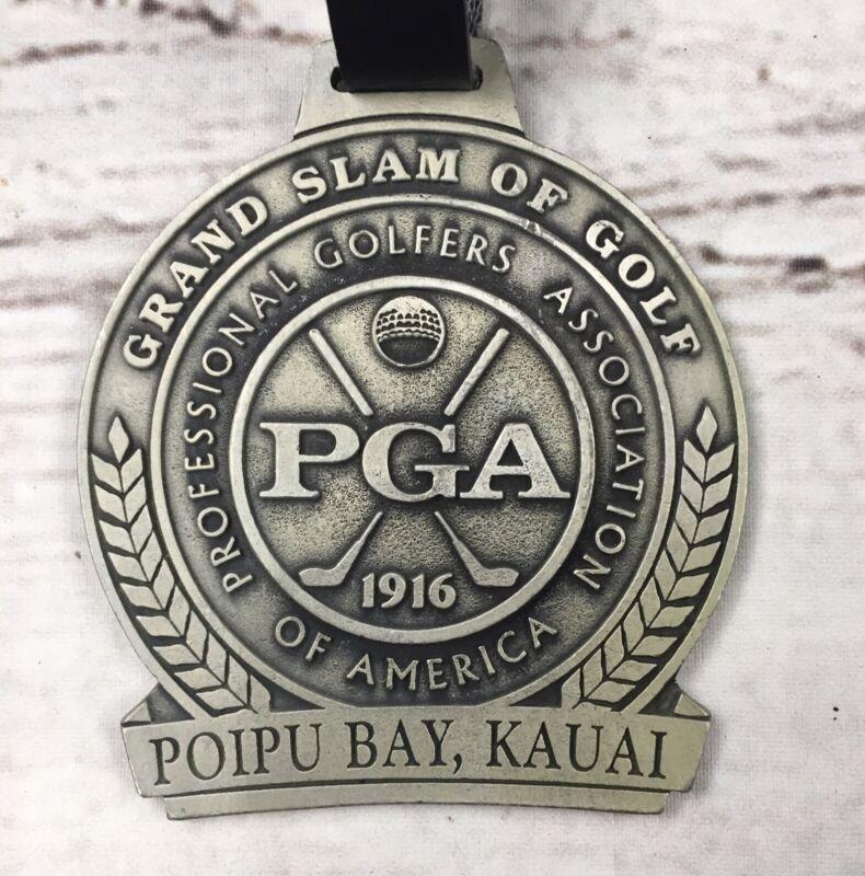Rare Poipu Bay Golf Bag Tag Metal PGA